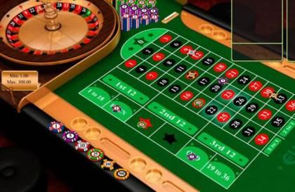 roulette games at Euro King Casino