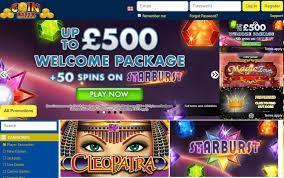 Angebote und Aktionen im Coinfalls Casino