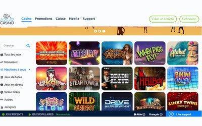 Casino Azur Spiele