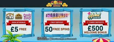 Freispiele im Coinfalls Casino