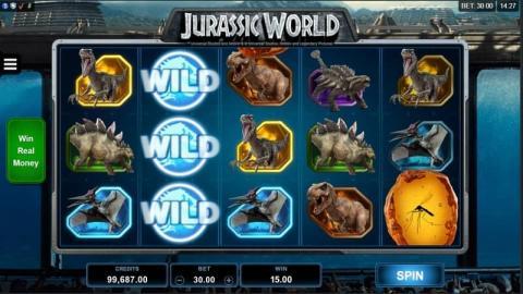 Jurassic World Spielautomaten