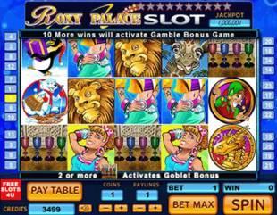 Roxy Palace Casino slot games