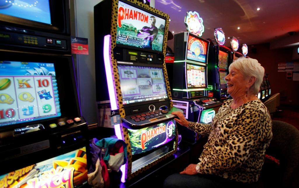 Playing pokies is as Aussie as a beer at the pub